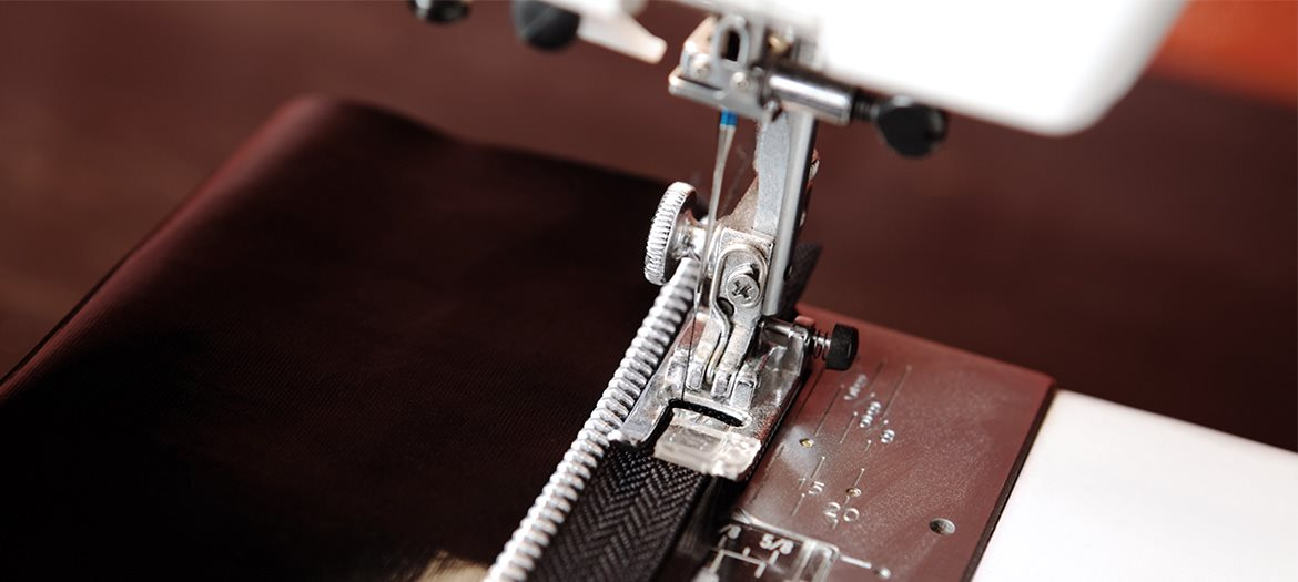 Sewing Metal Zippers