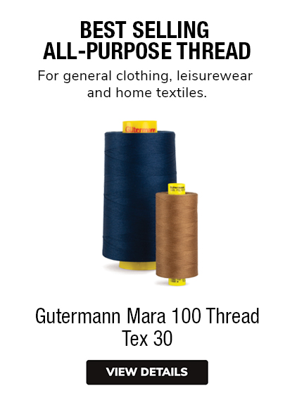 Gutermann Mara 100 All Purpose Thread Tex 30 BEsT SELLER For general clothing, leisurewear & home textiles.